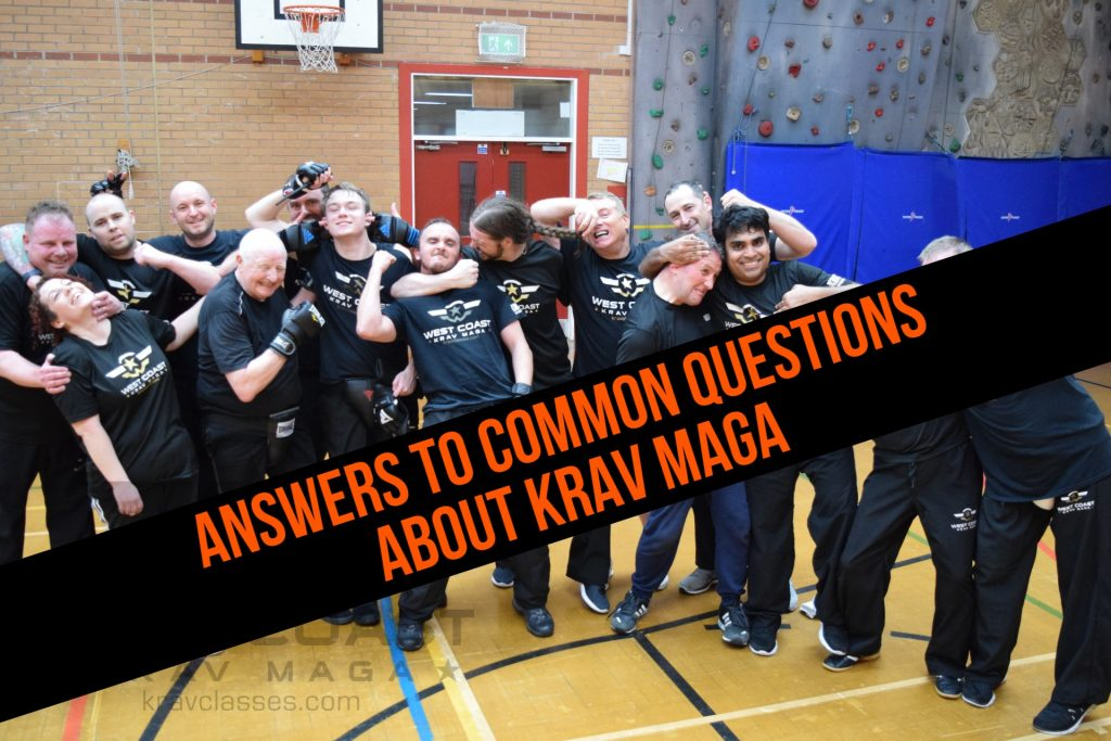 answers to questions about what krav maga training is?