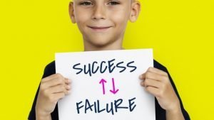 parenting guide - success if learning to fail