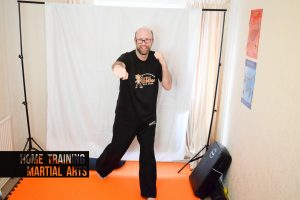 Training martial arts at home